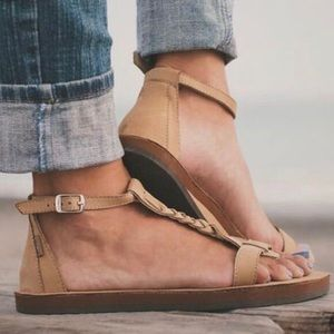 T Street Rainbow Sandal